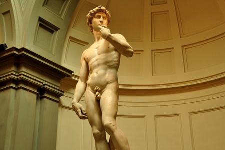 priceless: Michelangelos David, Accademia, Florence Italy Editorial