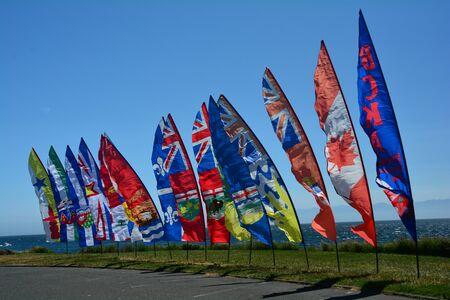 victoria bc: International kite festival Victoria BC Canada.