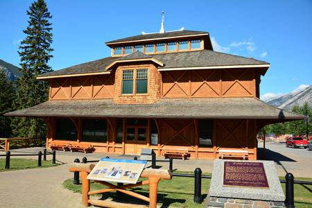 Banff wildlife museum,Banff National Park,Alberta Canada.