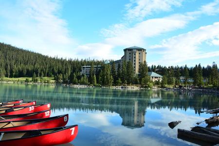 stock vista: Lake Louise, Banff National park, Alberta Canada. Editorial