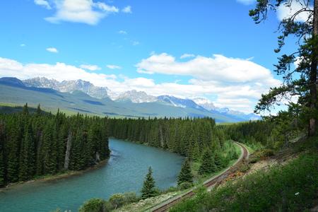 alberta: Landscapes of Banff National Park,Alberta Canada.
