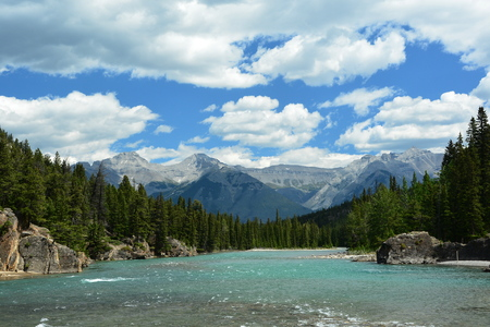 free stock photos: Mountain scenery in Banff National Park,Alberta Canada.
