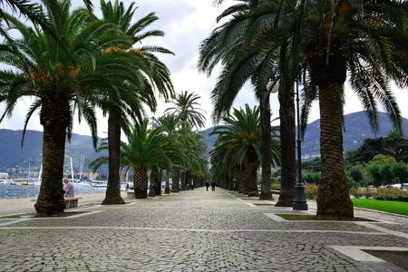 spezia: Ocean front promenade La Spezia Italy