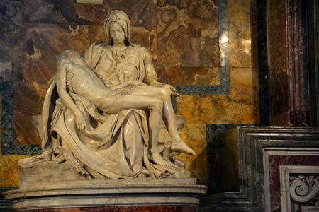 vatican: Michelangelos Pieta,Vatican,Rome Italy Editorial