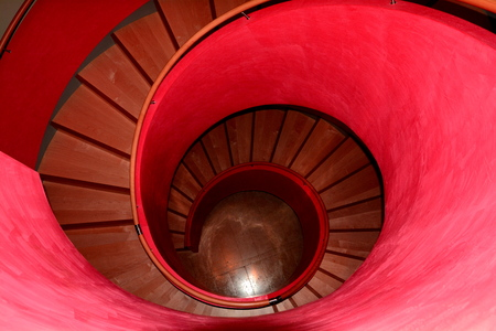 rungs: The Pink staircase