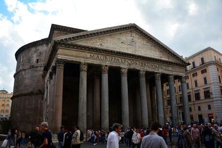 rome italy: Roman Pantheon,Rome Italy