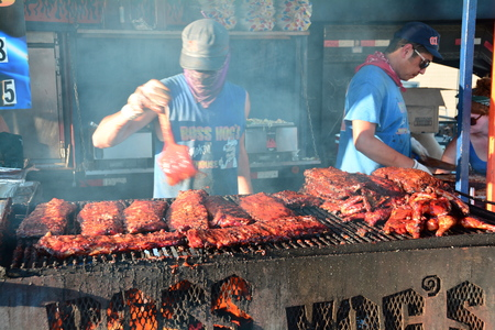 fest: Rib fest, Victoria BC, Canada,The annual rib fest brings thousands of meat lovers each year to this yummy event. Editorial