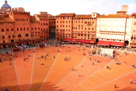 il: Il Campo, Siena Italy