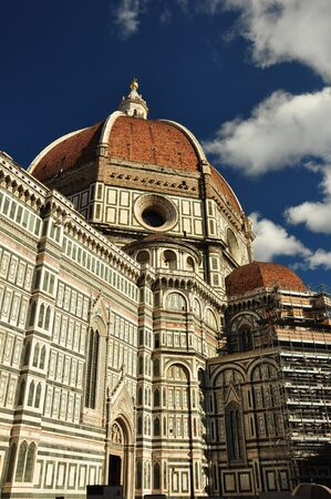 florence italy: The Duomo in Florence Italy.