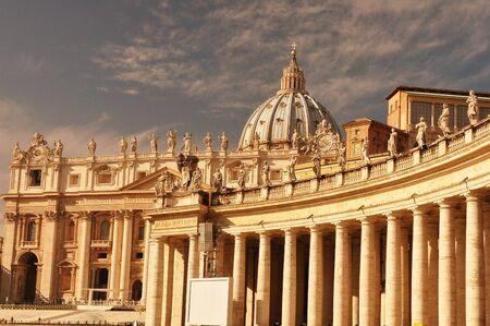 bernini: The Vatican Colonnades by Bernini the father of Baroque.