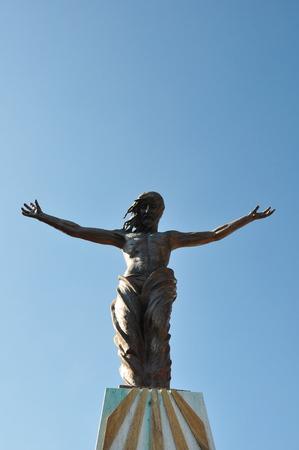 superstar: Statue of Jesus Christ the Superstar.