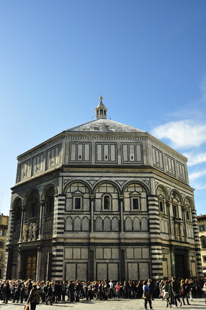 florence italy: Baptistery,Florence Italy