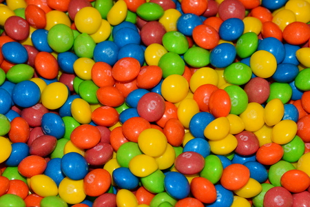 Colorful candy background--Sweeeet.