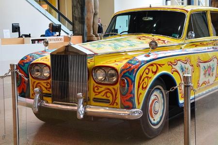 John Lennons psychedelic Rolls Royce.