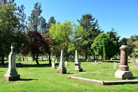 victoria bc: Ross Bay cemetery, Victoria BC, Canada