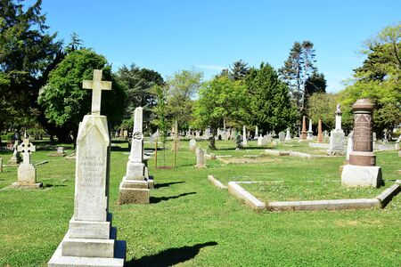peacefull: Ross Bay cemetery, Victoria BC, Canada.