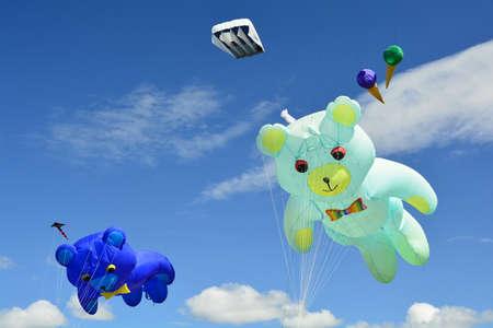 victoria bc: International kite festival Victoria BC, Canada.