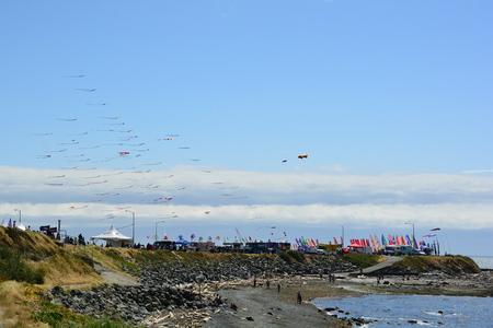 victoria bc: International kite festival, Victoria BC, Stock Photo
