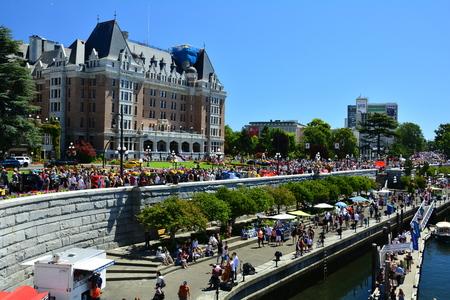 victoria bc: Inner harbor in Victoria BC,Canada