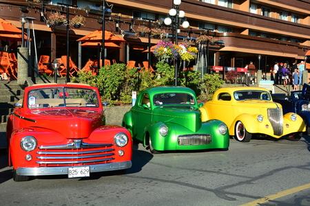 Classic car show Victoria BC,Canada