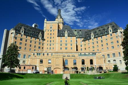 Bessborough Hotel in Saskatoon Saskatchewan
