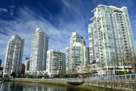 Yaletown district in Vancouver BC,Canada