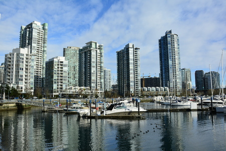 Yaletown district in Vancouver BC, Canada