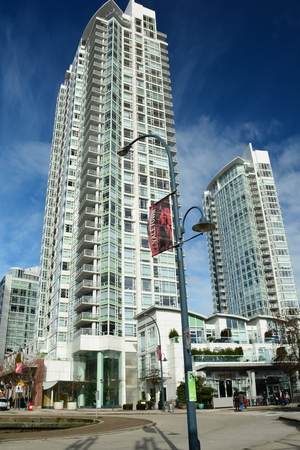 Yaletown luxury condominiums in Vancouver BC,Canada