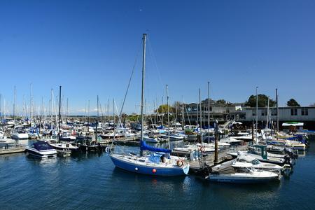 Oak Bay Marina in Victoria BC,Canada