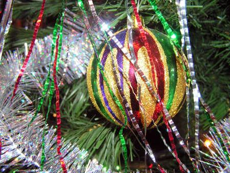 Ornament on a christmas fur-tree Stock Photo - 632013