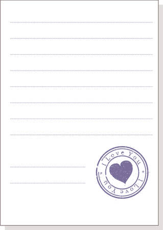 The form with a stamp. A vector illustration. Isolated Stock Vector - 707275
