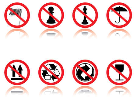 Symbols - jokes. Vector illustration. Stock Vector - 2515446