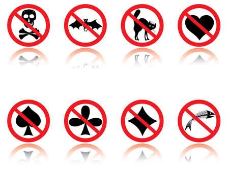 Symbols - jokes. Vector illustration. Stock Vector - 2631027