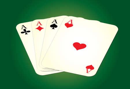 sideways: Set of leisure cards on green background. Vector illustration.