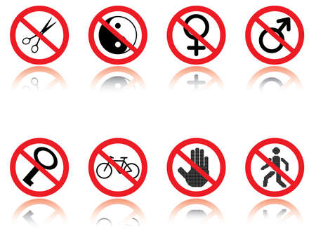 jokes: Symbols - jokes. Vector illustration.