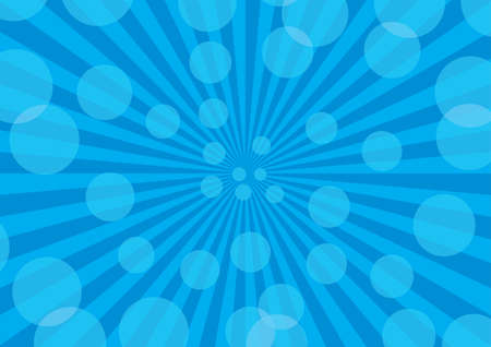 Abstract rays background. Blue palette. Vector illustration. Stock Vector - 4117559