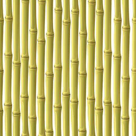 Abstract bamboo background. Seamless. yellow- brown palette. Vector illustration. Vector