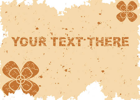 Abstract background. Grunge frame for your text. Vector illustration. Vector