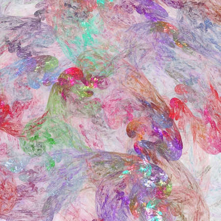Abstract background. Pink - purple palette. Raster fractal graphics. photo