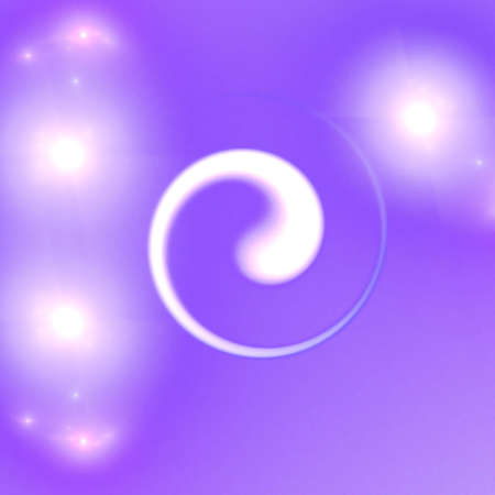 Abstract elegance background. Purple - white palette. Raster fractal graphics. Stock Photo - 5478155