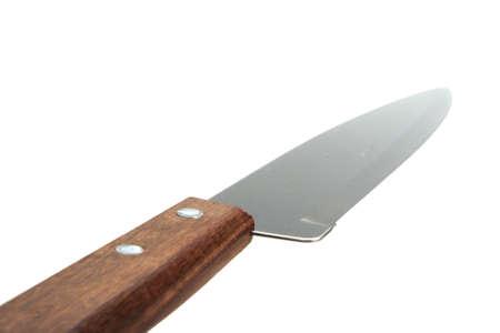 Single knife. Close-up. Isolated on white background. Stock Photo - 5553507