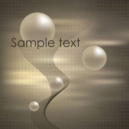 Élégance Abstract background. illustration. Gradient mesh inclure.