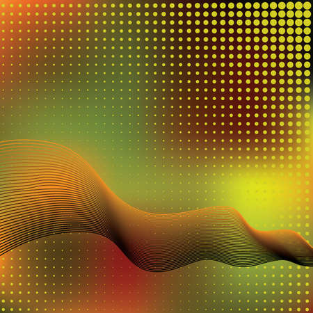Abstract elegance background with dots. Vector illustration. Gradient mesh include. Stock Vector - 5801950
