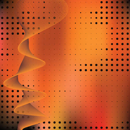 Abstract elegance background with dots. Vector illustration. Gradient mesh include. Ilustracja