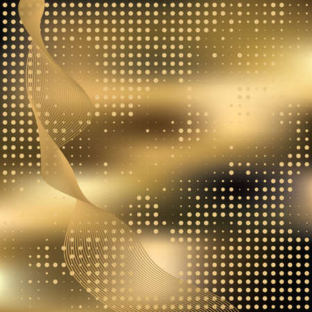 Abstract elegance background with dots. Vector illustration. Gradient mesh include. Illustration