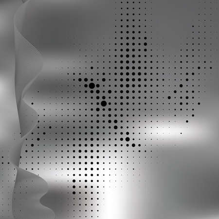 include: Abstract elegance background with dots.  illustration. Gradient mesh include.