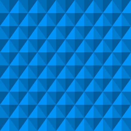 Abstracte achtergrond met 3d blue diamonds. Naadloze patroon.   illustratie.