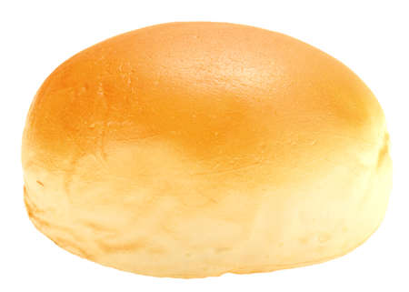 french bread: Single loaf of roll  Stock Photo