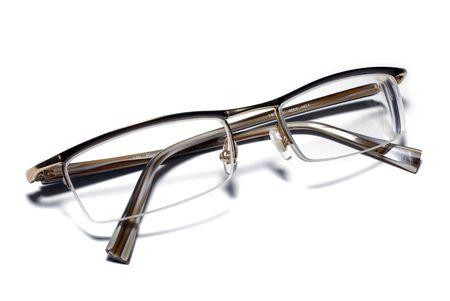 Glasses on white background. Stock Photo - 3729808
