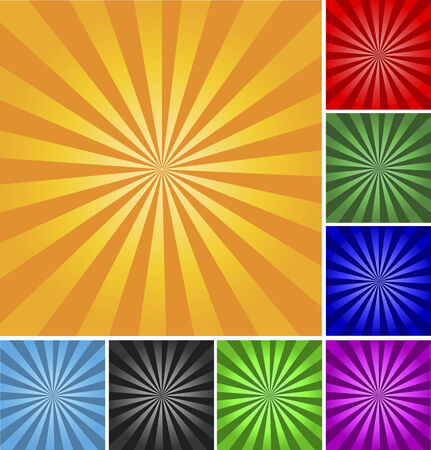 Retro style vector abstract background. Different colors and gradients. Stock Vector - 4176549